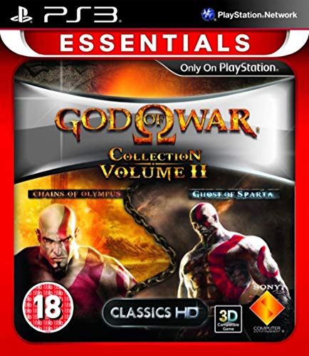 PS3 GOD OF WAR COLLECTION VOLUME II EDIZIONE INGLESE