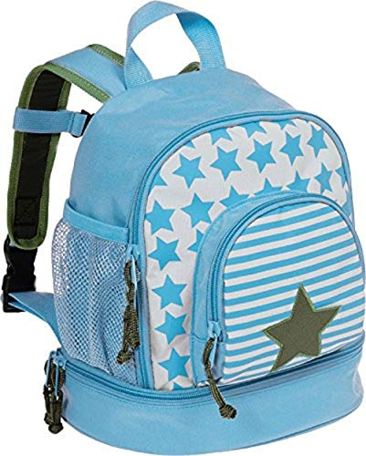 LÄSSIG Kinderrucksack Kindergartentasche mit Brustgurt/Mini Backpack Starlight Olive