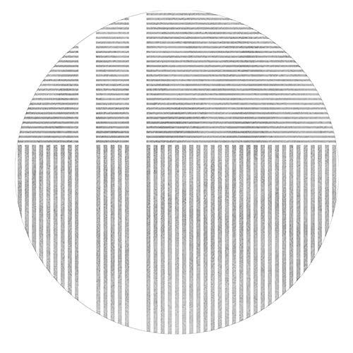 Tapete Para Escritorio Para Alfombra, Tapete Para Silla De Oficina, Tapete Redondo Para Piso, Tapete Para Silla De Piso Duro, Para Deslizamiento Y Protección Fáciles Debajo D(Size:80cm(31in),Color:B)