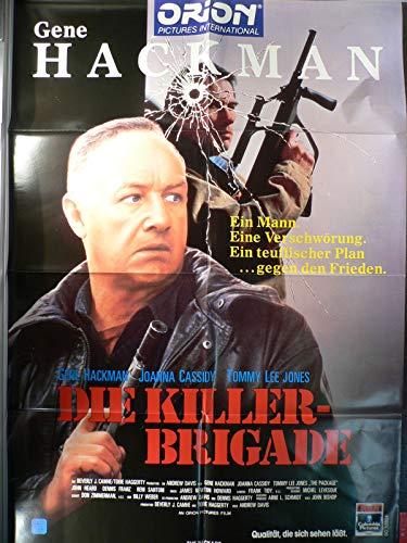 Die Killer-Brigade - Videoposter A1 84x60cm gefaltet (g)