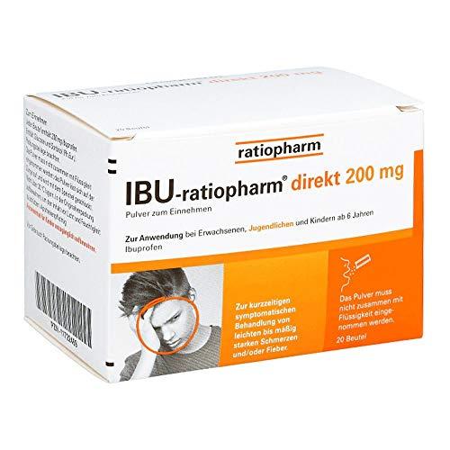 IBU-ratiopharm direkt 200 mg Pulver zum Einnehmen, 20 St