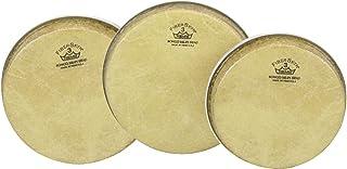 Stagg BW-7.5 Set de T/ête pour Bongo Blanc
