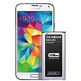 Batterie pour Galaxy S5, ZMNT 3210mAh Li-ION Batterie Remplacement pour Galaxy S5 [I9600, G900F, G900V (Verizon), G900T (T-Mobile), G900A (AT&T), G900P (Sprint)]