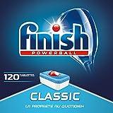 Finish Pastilles Lave-Vaisselle Powerball Classic - 120 Tablettes Lave-Vaisselle