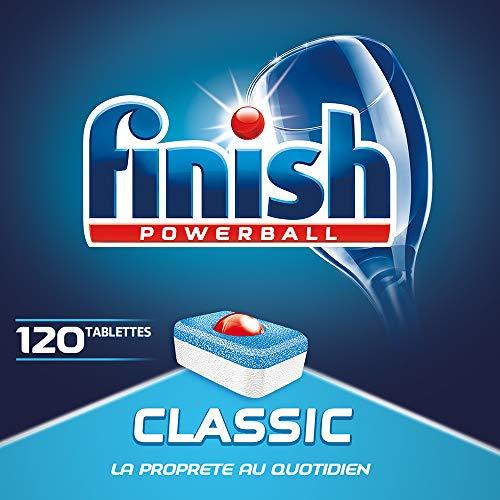 Finish Powerball Classic, pack de 3 x 40 tabletas