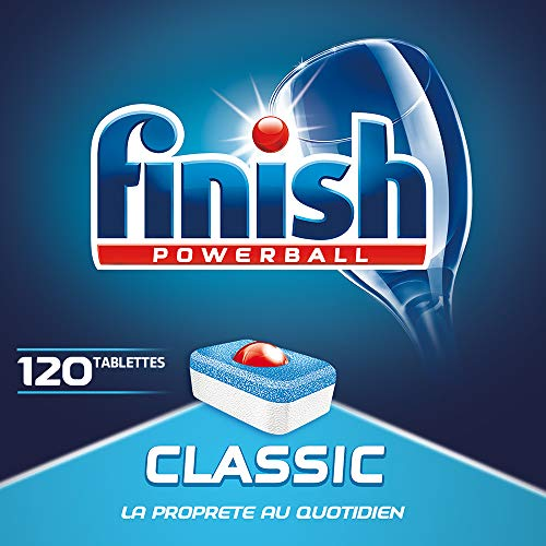 Finish Powerball Classic, pack de 3 x 40 tabletas