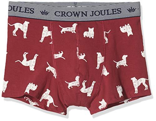 Joules Put a Sockin It Boxer de Bain, Multicolore (Red Dogs REDDOGS), S Homme