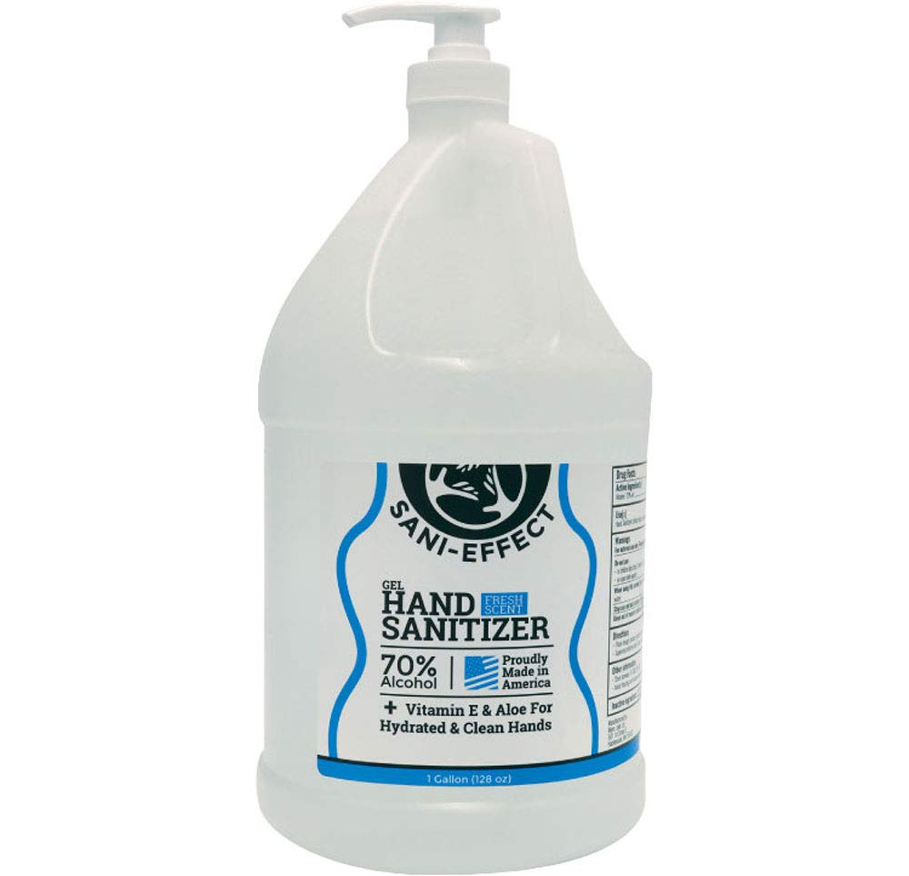Large-scale sale Fresh Scent Gel Hand Sanitizer + Aloe for Hydrated Direct store Vitamin E
