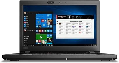 "$1899 Get Lenovo ThinkPad P52 Mobile Workstation - Intel Xeon E-2176M 6-Core, 64GB DDR4 RAM, 15.6"" 4K UHD 3840x2160 IPS Touchscreen, NVIDIA Quadro Graphics P2000, Windows 10 Pro Laptop"
