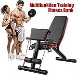 Tribesigns Fitness Hantelbank,trainingsbank mit Multifunktion,klappbare flachbank für...