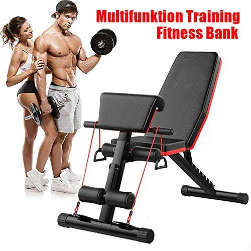 Tribesigns Fitness Hantelbank,trainingsbank mit Multifunktion,klappbare flachbank für bauchtrainer,rückentrainer,et