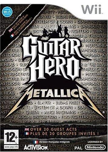 Guitar Hero: Metallica [importación francesa]
