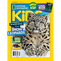 6 months (5 Issues) of National Geographic Kids Magazine Subscription