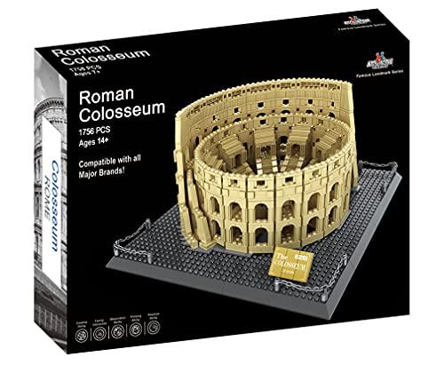 Conjunto de Bloques de Construcción del Coliseo Romano...