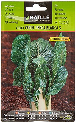 Batlle Gemüsesamen - Mangold grün weisse Rippen (600 Samen)