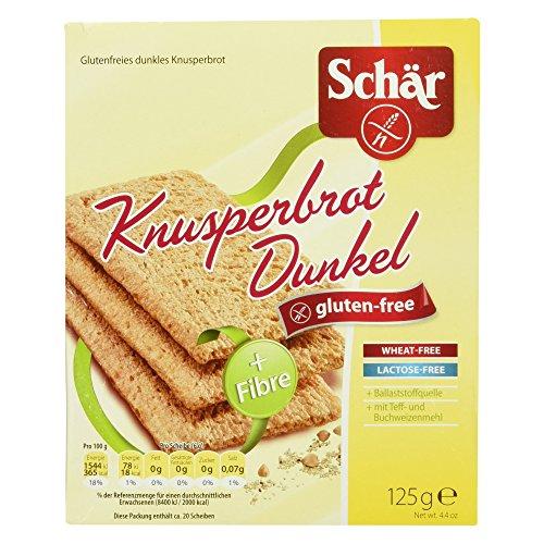 Schär Knusperbrot Dunkel glutenfrei 125g