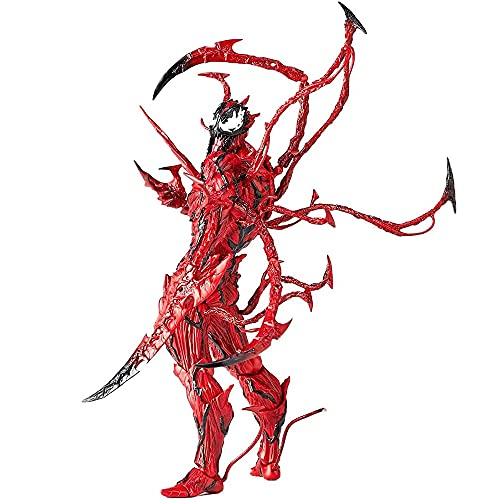 CNMF Carnage Venom Action Figure Anime, Collectible Venom Action Figures Anime Toy / 7-inch