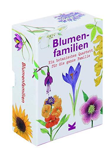 Blumenfamilien: Ein botanisches Quartett für die ganze Familie