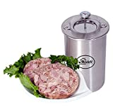 Ham Maker - Stainless Steel Meat Press for Making Healthy Homemade Deli Meat