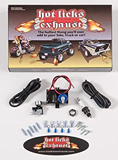 Hot Licks Single Exhaust Flamethrower Kit for Automobiles or Motorcycles