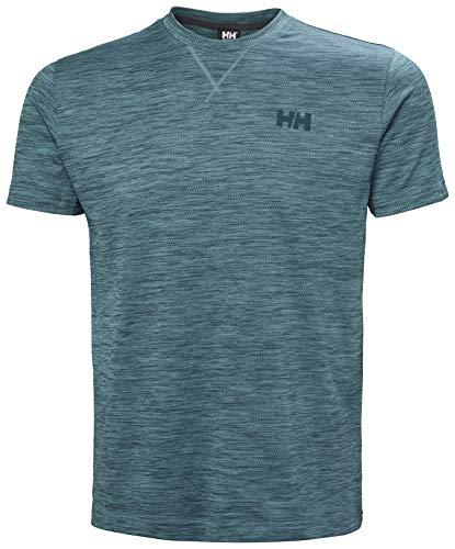 Helly Hansen Verglas Go, Camiseta Hombre, North Teal Blue, XL