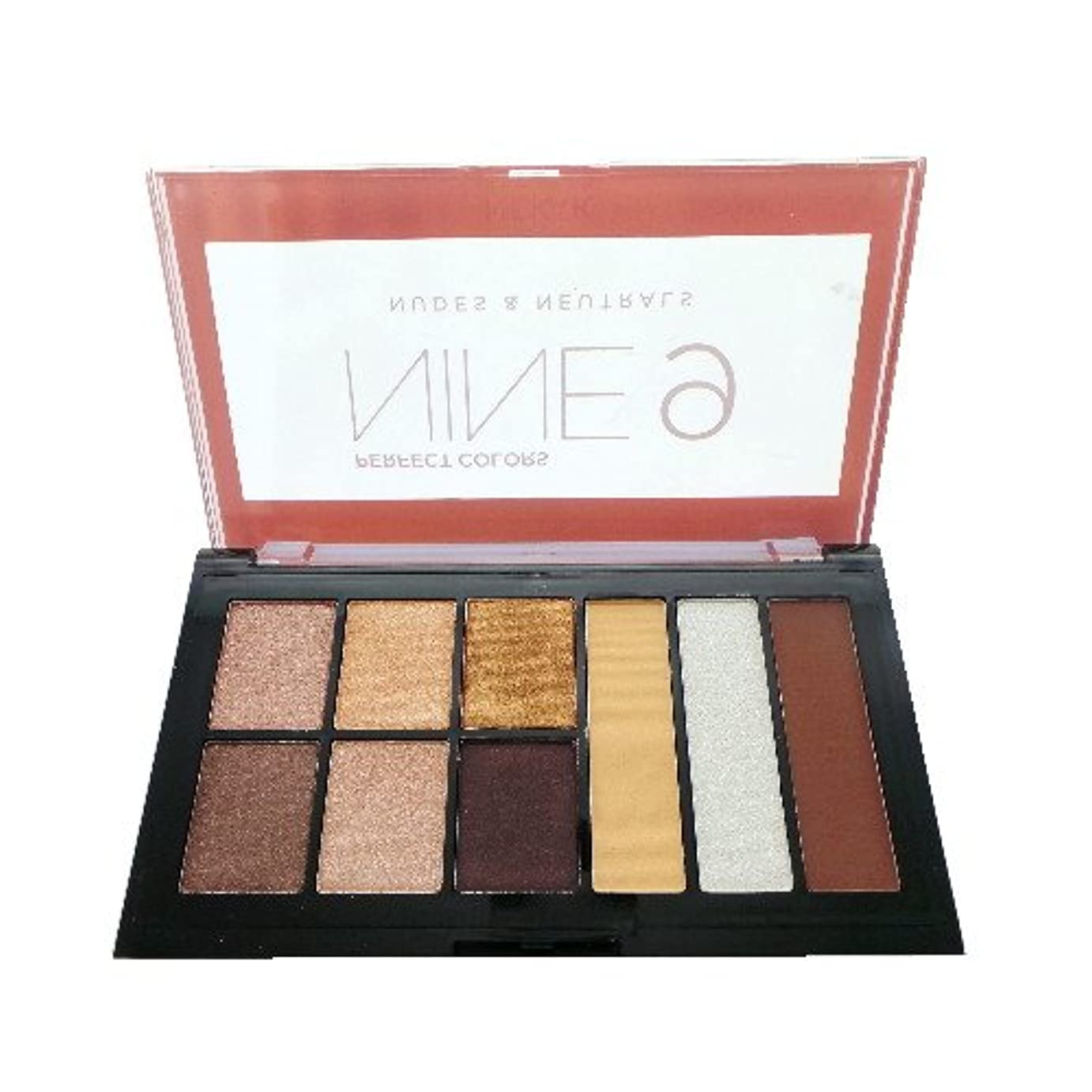 本物神経衰弱頬骨(6 Pack) NICKA K Perfect 9 Nudes & Neutrals Palette (並行輸入品)