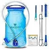 WACOOL 2L 2Liter 70oz BPA Free PEVA Hydration Pack Bladder, Leakproof Water...