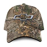 Buck Wear Chevy-Bowtie Camo Hat, Camouflage, One Size