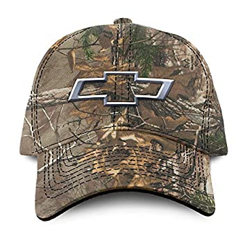 Buck Wear Chevy-Bowtie Camo Hat Camouflage One Size