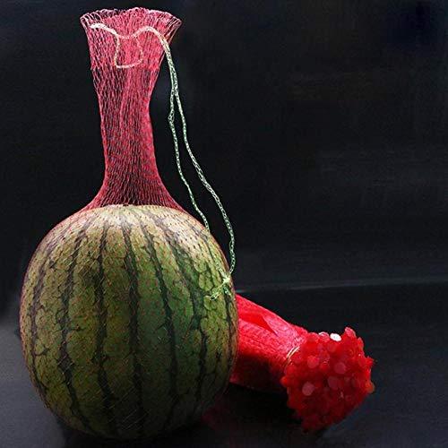LIFEILONG 100 Bolsas de Malla de plástico de Frutas sandía