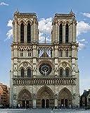 1art1 Paris - Notre-Dame de Paris, 2014 Poster Kunstdruck