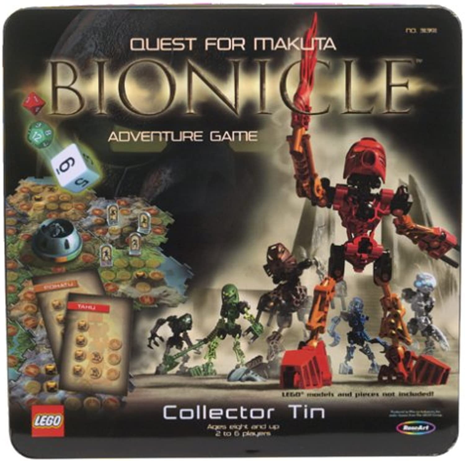 LEGO 31391 Bionicle Quest for Makuta Adventure Game  Collector Tin