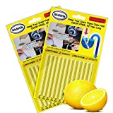 Sidith Drain Cleaner Sticks, Sink Deodorizer (24 Pcs), Sink Freshener to Keep Odor Free As...