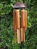 Móvil de bambú tamaño mediano/viento - hecho a mano en Bali - 45 cm de largo - procedentes del...