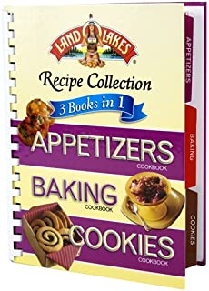 Land O' Lakes 3 Books in 1: Appetizers, Baking, and Cookies