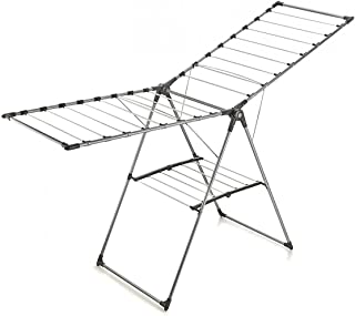 PENG ESSENTIALS Mega Aluminium Butterfly Shaped Cloth Drying Rack with Shoe Drying Space - Cloth Dryer Stand Shoe Drying S...