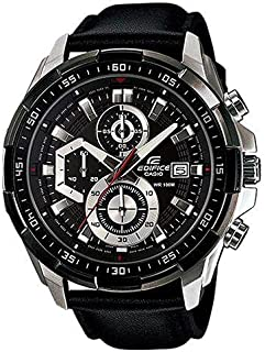 Casio Edifice Men Analog Leather Band Watch - EFR-539L-7CUDF