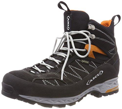 AKU Herren TENGU LITE GTX Trekking-& Wanderstiefel, Schwarz (Black/Orange), 42 EU