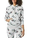 Amazon Essentials Disney Star Wars Marvel Fleece Pullover Sweatshirt Hoodies Felpa, Icone Minnie, XXL