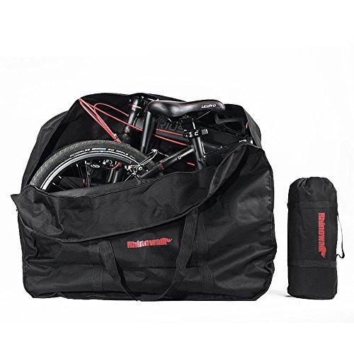 LKN Bolsa de Almacenamiento para Bicicleta, Plegable, Bolsa de Transporte con Bolsa,...