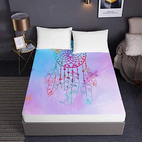 Bedclothes-Blanket bettlaken boxspringbett,Bedruckte Spannbetttücher für Einzelbett...