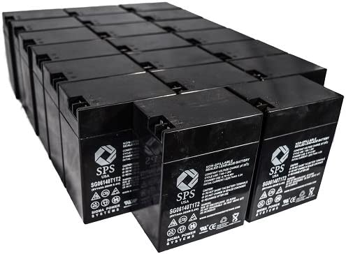 SPS Brand 6V 14 Manufacturer OFFicial shop Ah Terminal Replacement Lithoni Sale item Battery T1T2 for