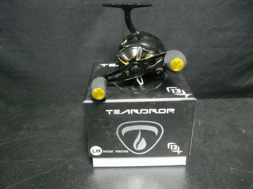 13 Fishing Teardrop Ice Reel, Left