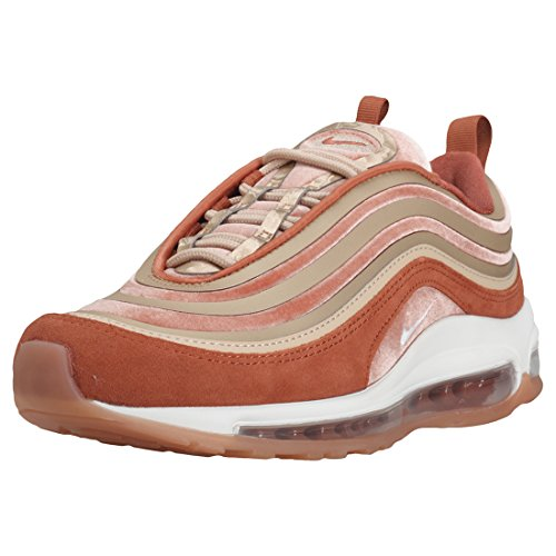 Nike W Air Max 97 UL '17 LX, Scarpe Running Donna, Multicolore (Gunsmoke/Summit Whit 001), 39 EU
