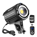 Neewer 60W LED Video Light White 5600K Version Continuous Lighting, CRI 95+with Remote Control, Bowens Mount for Video Recording, Portrait Photography, Outdoor Shooting