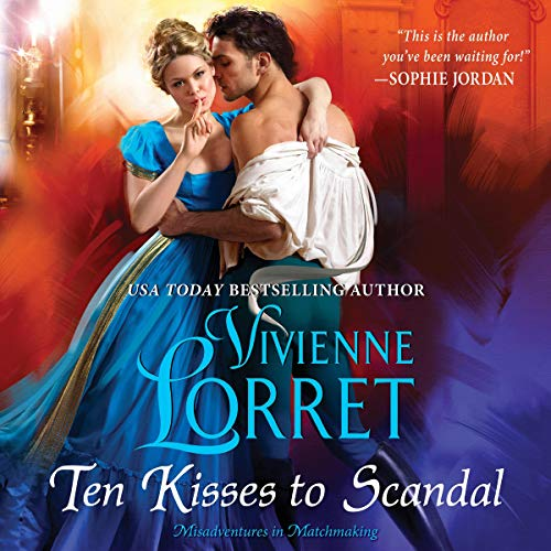 Ten Kisses to Scandal audiobook cover art