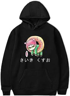 Anime Saiki Kusuo no Ψ-Nan Hoodie Unisex Streetwear Saiki Kusuo Sudadera de Manga Larga The Disastrous Life of Saiki K. Su...