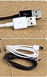 El cable de datos de carga ampliado HTC One ME Micro-USB 2.0 permite flexibilidad y soporte adicionales y ayuda con accesorios, fundas, teléfonos y puertos extraños, insertados o curvos