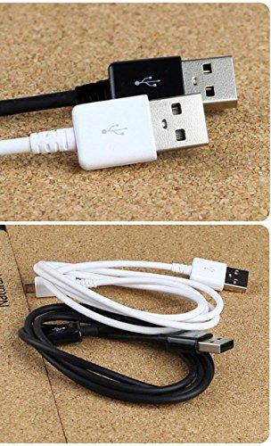 El cable de datos de carga micro USB 2.0 de Asus ZenFone Max permite flexibilidad y soporte adicionales y ayuda con accesorios, fundas, teléfonos y puertos extraños, o curvados.