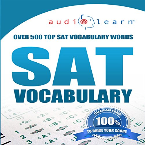 2012 SAT Vocabulary Audio Learn audiobook cover art